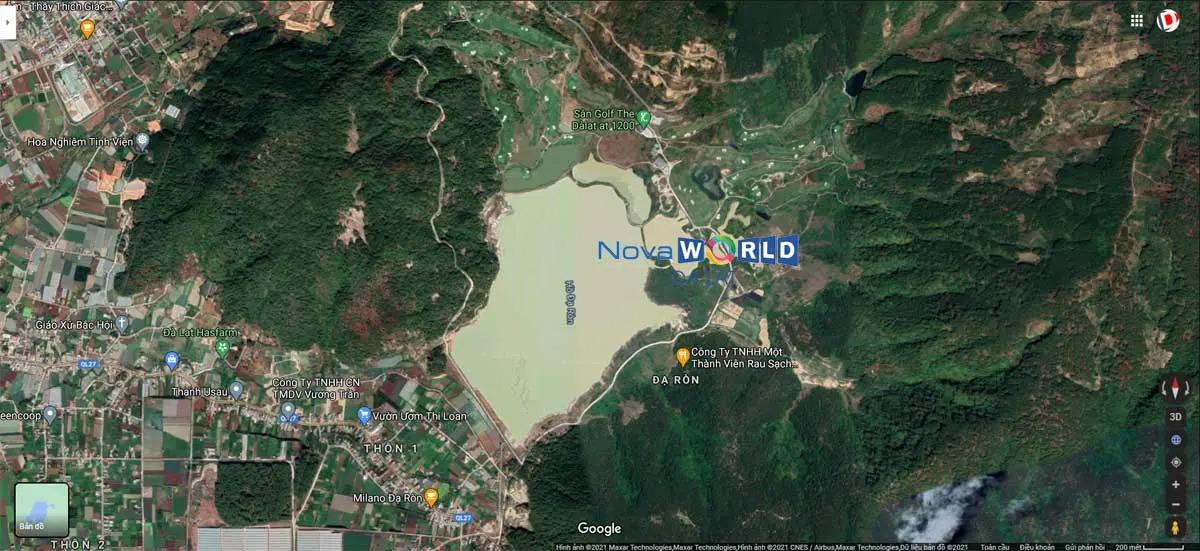 Vị trí Novaworld Đà Lạt